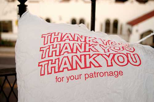 Thank you for the patronage