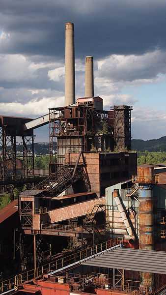2° posto: zona industriale di Viktovice, Ostrava. CC-BY-SA Honza chodec