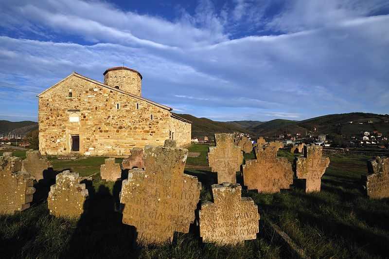 1° posto: chiesa ortodossa di San Pietro, a Novi Pazar. CC-BY-SA Pavle Marjanovic