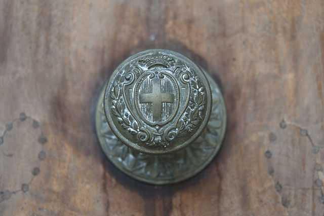 La corona. Archivio centrale dello Stato (Roma). -Foto di Maristela Possamai [per la licenza si veda  qui]