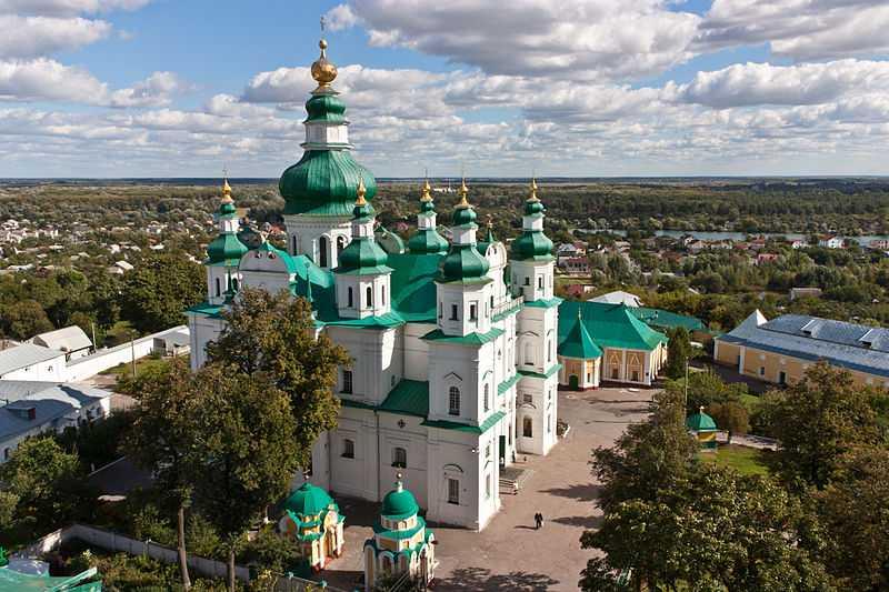 1° posto: Monastero della Trinità, Chernihiv. CC-BY-SA Valerii Sorokin