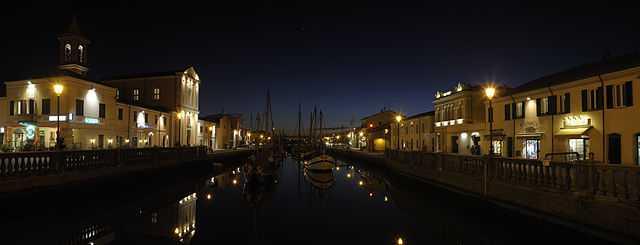 Il Porto Canale di Cesenatico - foto di Bassanan [Licenza CC-BY-SA 3.0]