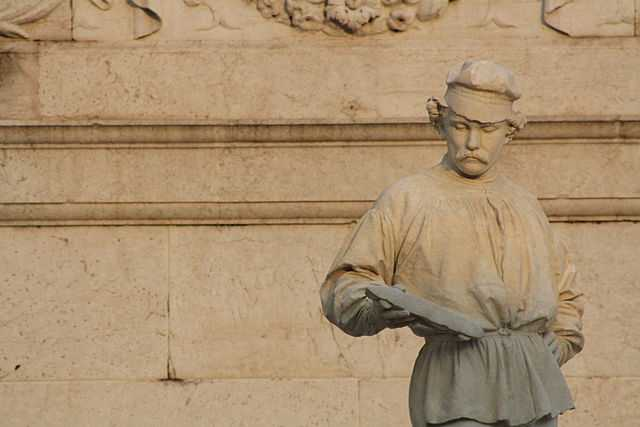 L'Omo - Monumento al Tessitore, Schio - Foto di Giotz91 [Licenza CC-BY-SA 3.0]