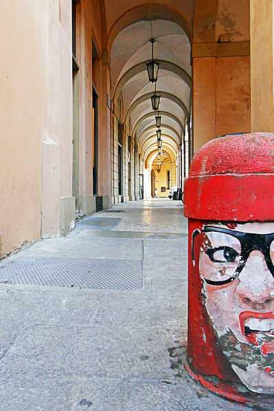 Portico, Bologna. CC-BY-SA Antonio Incorvaia