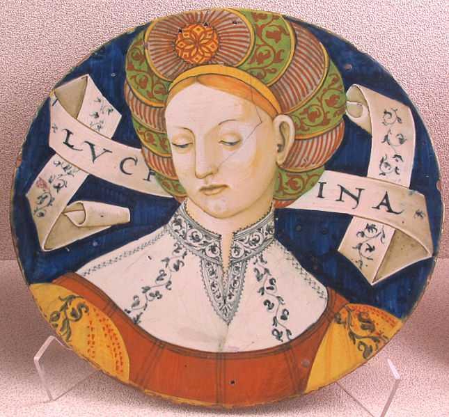 Luchina Casteldurante, Museo Nazionale d'Arte Medievale e Moderna. CC-BY-SA Sailko