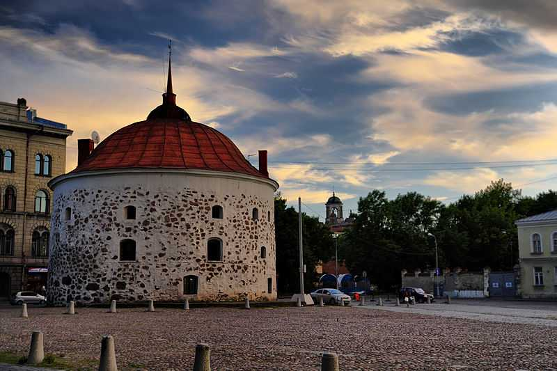Torre rotonda, Vyborg. CC-BY-SA Fotograd