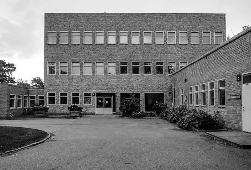 Laboratorio batteriologico nazionale, Solna. CC-BY-SA Borkaryd.