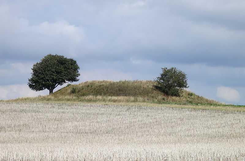 1* posto: tumulo Vållehögen, Vellinge. CC-BY-SA  Jorchr