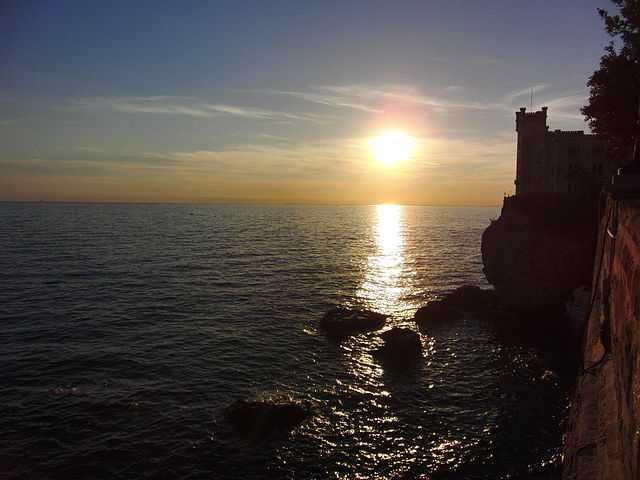 La riserva marina di Miramare (Oasi WWF - Trieste) - Foto di Unavoce [licenza CC-BY-SA 3.0]