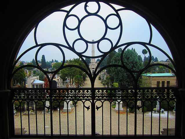 Cimitero maggiore di Pavia - Foto di  Semiva21 [Licenza CC-BY-SA 3.0]