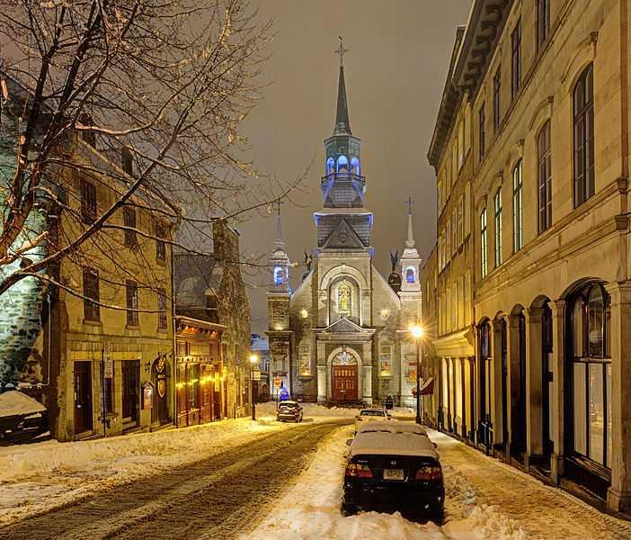1° posto: Cappella di Notre-Dame-de-Bon-Secours  e Marguerite-Bourgeoys Museum, Montreal. CC-BY-SA Jazmin Million