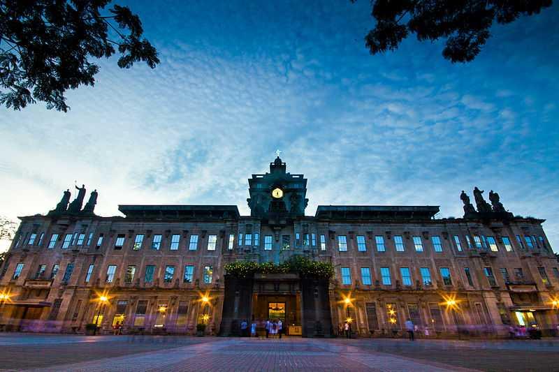 6° posto: Università di Santo Thomas, edificio principale. CC-BY-SA Tristantamayo