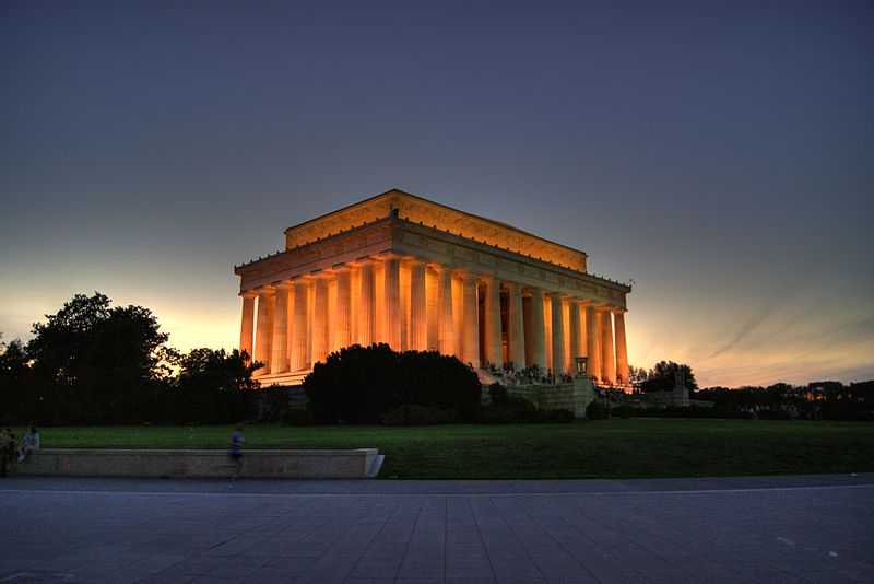 Lincoln Memorial, Washington D.C.. CC-BY-SA Erich Robert Joli Weber