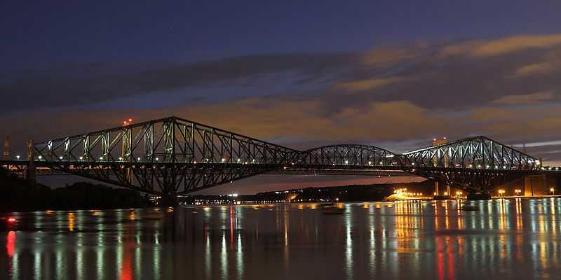 2° posto: Ponte Québec, Quebec. CC-BY-SA Canonnica