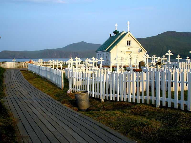 Cappella di Sant'Alessandro Nevsky, Alaska. CC-BY-SA Etaohc