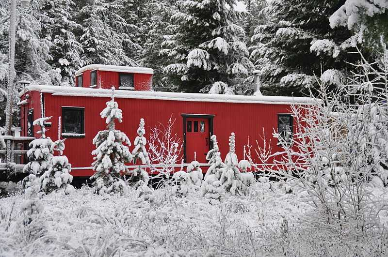 "1° posto: Cabin Creek ""Inn"", Washington. CC-BY-SA Kellejr"