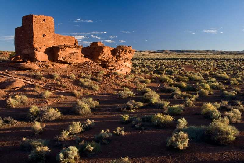2° posto: rovine Wukoki, parte del Monumento Nazionale Wupatki, Arizona. CC-BY-SA Stephen M Alden