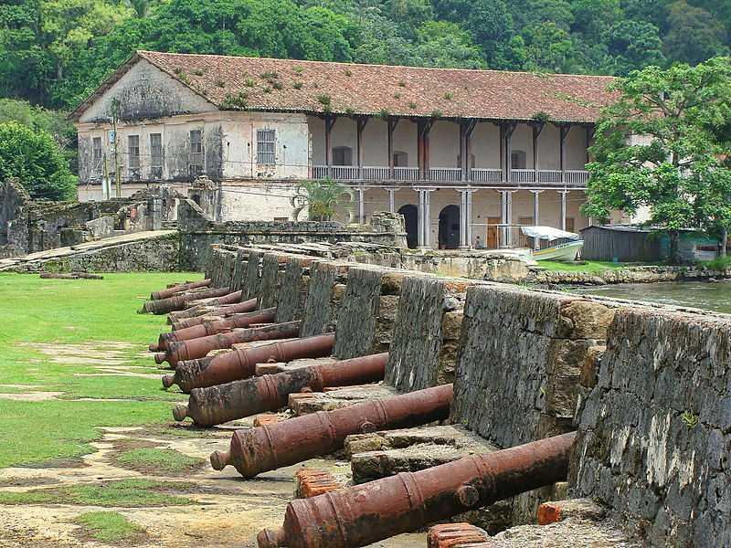 Antica dogana, Portobelo. CC-BY-SA Editorpana