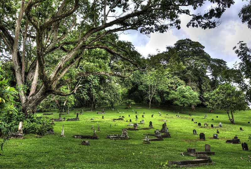 Cimitero di Corozal. CC-BY-SA  Guisepitt