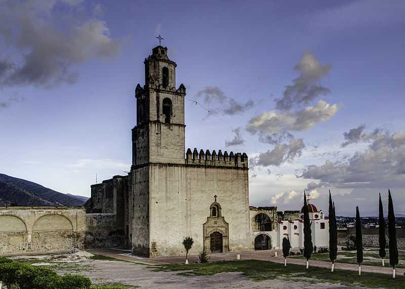 2° posto: Ex-convento di Tecamachalco, Puebla. CC-BY-SA Jaime Flores