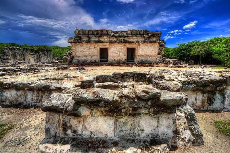 7° posto: Zona archeologica di El Rey, Cancún, Quintana Roo. CC-BY-SA Xe3osc