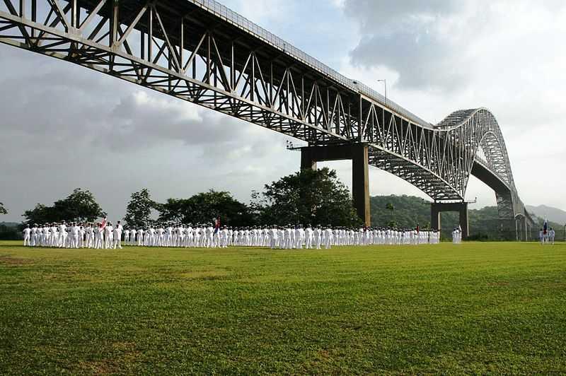 Ponte delle Americhe, Canale di Panama. CC-BY-SA Youngiovani