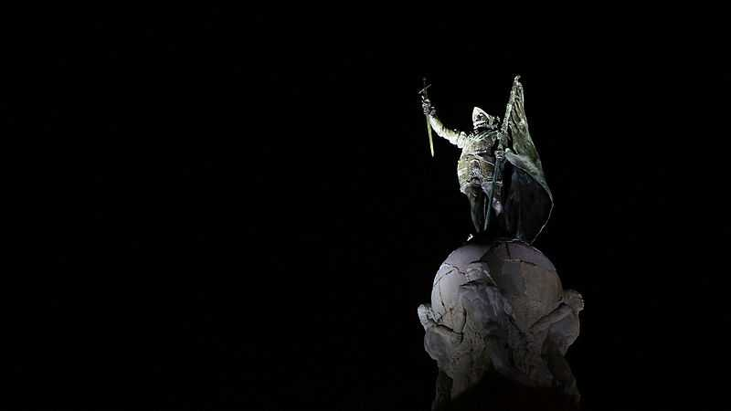 Monumento a Vasco Núñez de Balboa, Panamà. CC-BY-SA  MaxiV4