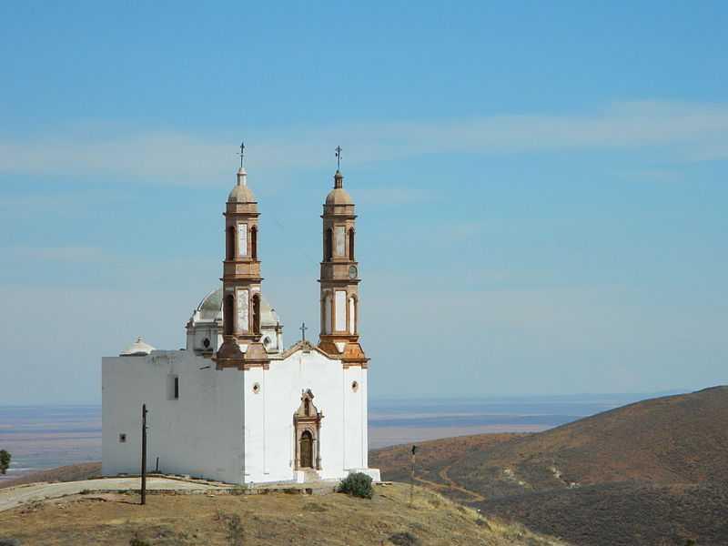 4° posto: Parrocchia di Nostra Signora della Concezione, Vetagrande, Zacatecas. CC-BY-SA Isaac Cervantes Sánchez