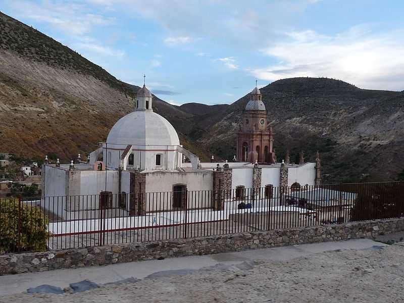 9° posto: Parrocchia dell'Immacolata Concezione, Catorce, San Luís Potosí. CC-BY-SA Marioli925