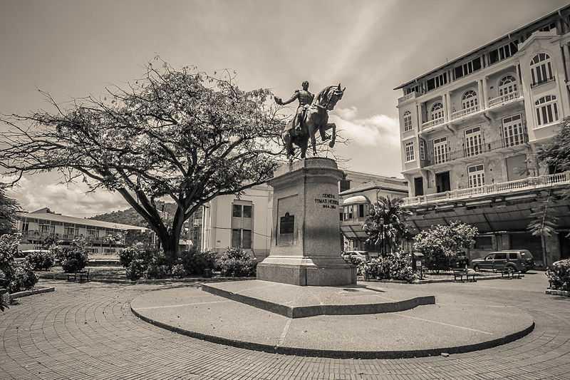 Piazza Herrera, Panama. CC-BY-SA GaryAmberths