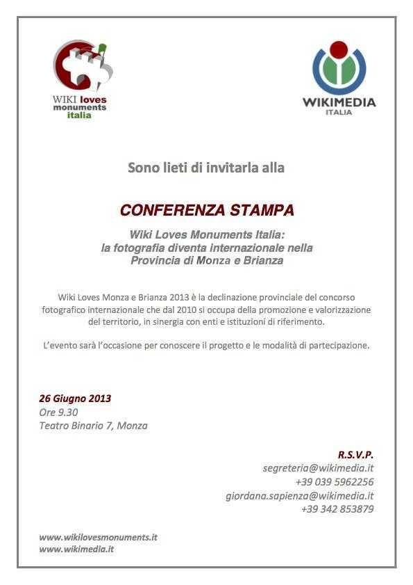 INVITO STAMPA_Monza_26 giugno 2013
