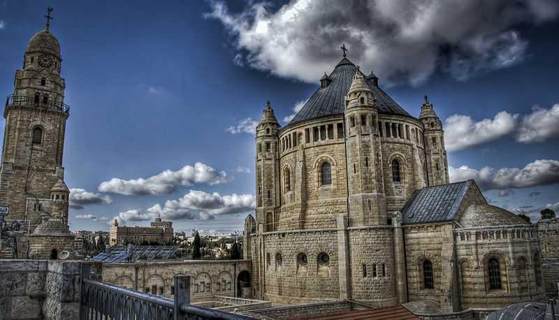 6° posto: Basilica della Dormizione di Maria, Monte Sion, Gerusalemme. CC-BY-SA Eldadc1