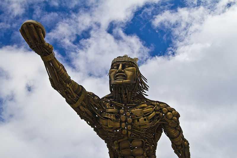 Monumento agli Indigeni, Turmequé Author: Sfabarafe