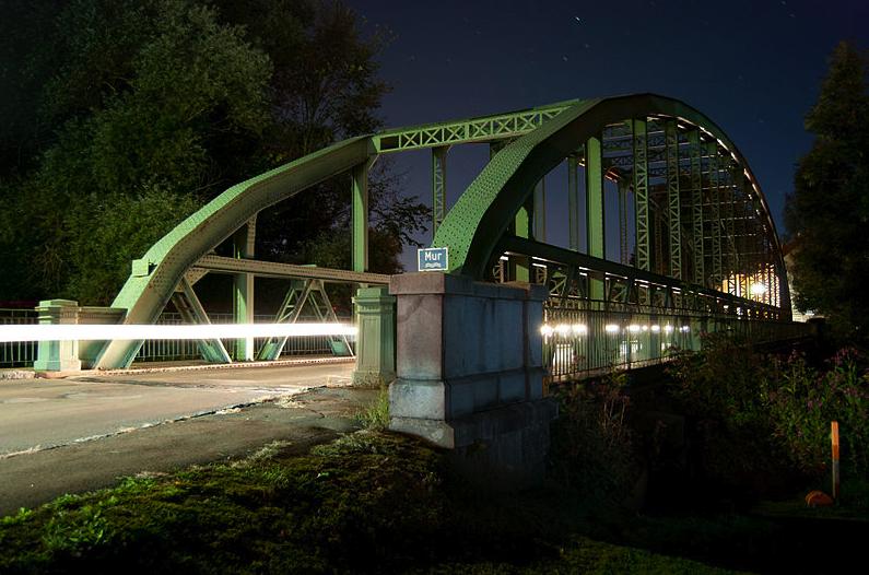 2° posto: il ponte sul fiume Mur. CC-BY-SA Brezocnik Michael