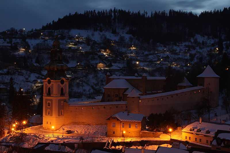 2° posto: Castello di Banská Štiavnica. CC-BY-SA Peter Porubcan