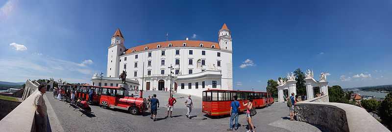 3° posto: Castello di Bratislava. CC-BY-SA Christian Barth