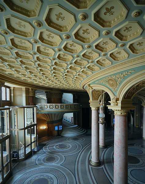 2° posto: Ateneo Rumeno, teatro di Bucharest. CC-BY-SA fusion-of-horizons