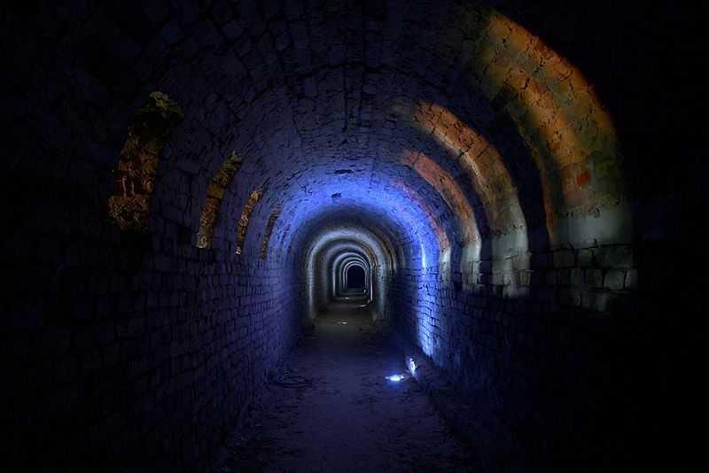 2° posto: sotterranei della fortezza di Petrovaradin. CC-BY-SA Aleksandar Miskov