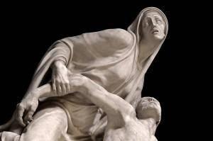 Cimitero monumentale di Staglieno: statua - Antonietta preziuso - CC-BY-SA 3.0