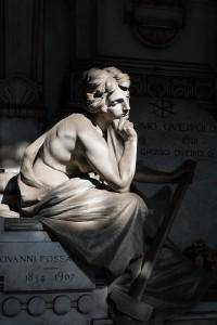 Tomba di Giovanni Fossati (Staglieno) - di Andrea Repetto - CC-BY-SA 3.0 - Foto terza classificata WLM 2014