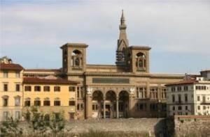 9763_-_Firenze_-_L'Arno_e_la_Biblioteca_Nazionale_-_Foto_Giovanni_Dall'Orto,_28-Oct-2007