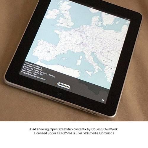 Ipad per sito OSM