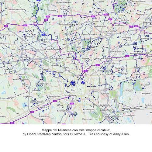 mappa per sito OSMIT