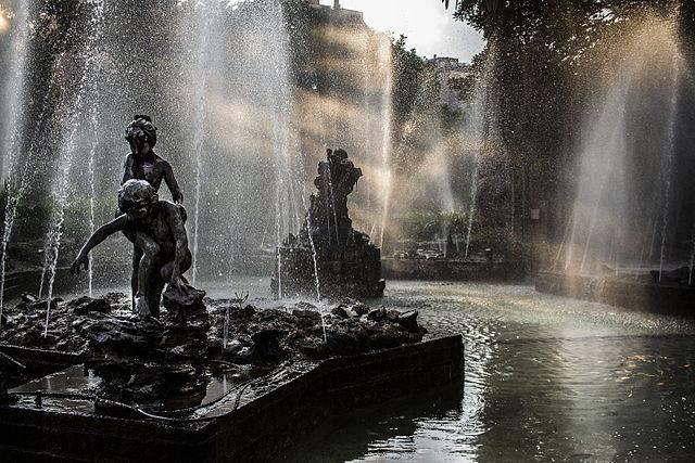 giardino_inglese_palermo_-_sunbean_in_fountain_-_foto_di_cristiano_drago