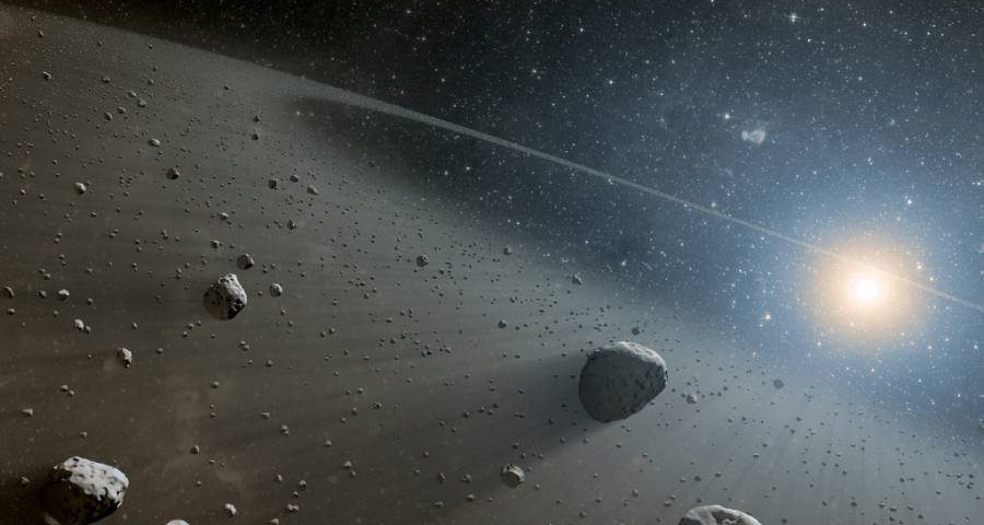 cintura di asteroidi