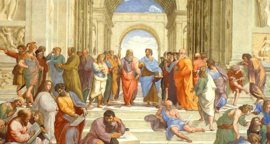 la scuola di atene molti autori presenti in wikiquote